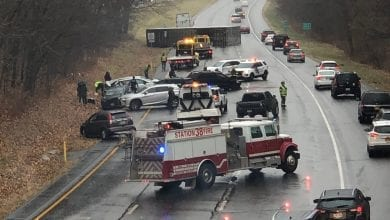 Photo of Tractor-trailer overturns, multiple vehicles involved in I-80 crash in Warren County