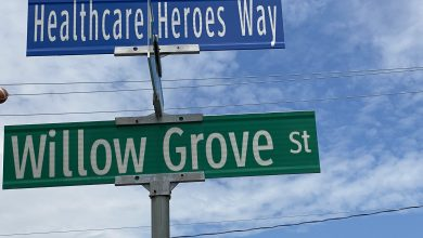 Photo of Hackettstown honors first responders, healthcare workers and essential workers with new street signs (VIDEO)