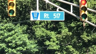 Photo of Road work to begin Monday on Route 517 in Warren County