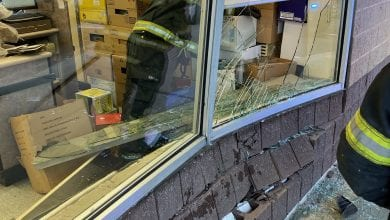 Photo of Car crashes into ShopRite Wines & Spirits store in Hackettstown (PHOTOS)