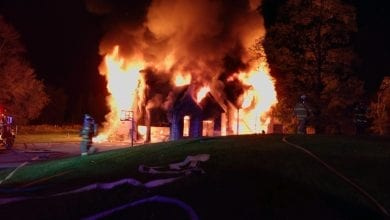 Photo of Gift cards being collected for family that lost everything in house fire