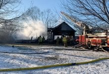 Photo of Fire destroys home in Knowlton Twp., investigation underway