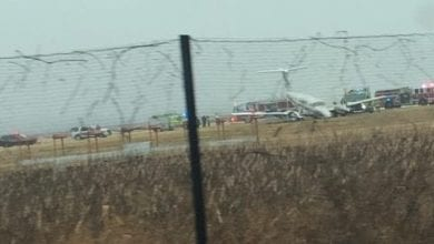 Photo of Plane goes off runway at Morristown Airport, no injuries reported