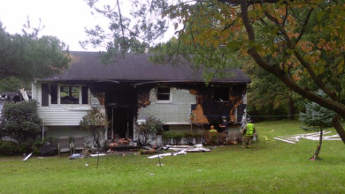 Photo of Cause of Hunterdon County fire that displaced couple, left several firefighters injured under investigation