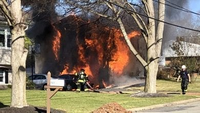 Photo of Hackettstown house fire remains under investigation but does not appear suspicious (PHOTOS)