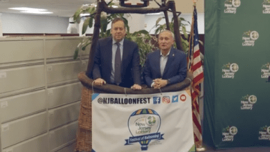 Photo of NJ Lottery signs multi-year deal as title sponsor of New Jersey Festival of Ballooning