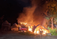 Photo of No injuries in Allamuchy Twp barn fire