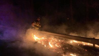 Photo of NJ Forest Fire investigate multiple brush fires in Knowlton Township