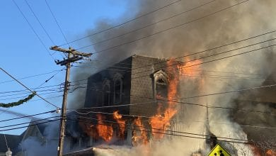 Photo of 3-alarm fire destroys building in Netcong  (VIDEO & PHOTOS)