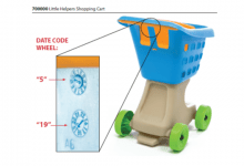 Photo of Step2 recalls children's grocery shopping carts due to laceration hazard