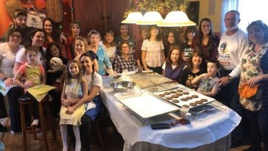 Photo of Family and friends gather at Hackettstown home to make thousands of cookies for troops (PHOTOS)