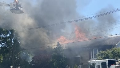 Photo of No injuries in 2-alarm house fire in Hackettstown (PHOTOS)