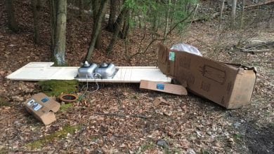 Photo of Illegal dumping, vandalism increase at Delaware Water Gap National Recreation Area