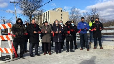 Photo of East Blackwell Street Bridge in Dover reopened with ribbon-cutting ceremony