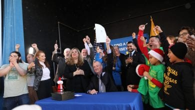 Photo of Gov. Murphy signs bill allowing undocumented immigrants to get driver's licenses