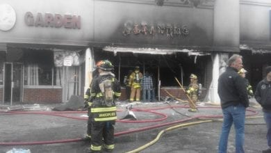 Photo of 4-alarm fire erupts at shopping center in Wantage Twp. (PHOTOS)