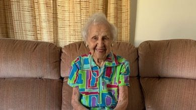 Photo of Sussex County woman asks for 105 birthday cards to celebrate her 105th birthday