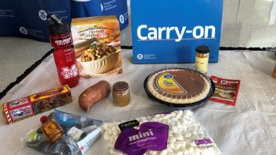 Photo of TSA dishes on what Thanksgiving foods can be carried through security checkpoints, what items need to be transported in checked baggage
