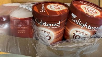 Photo of Company issues allergy alert on undeclared milk in mislabeled Enlightened Chocolate Peanut Butter pints
