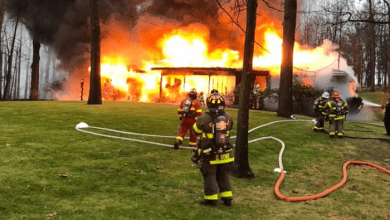 Photo of No injuries reported after house fire in White Township