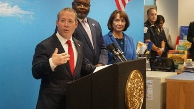 Photo of Gov. Murphy, Congressman Gottheimer announce new efforts to ensure New Jersey schools have access to clean water