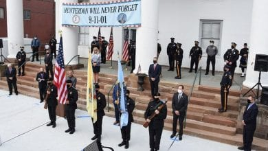 Photo of Hunterdon County 9-11 ceremony remembers first responders lost and recognizes their risks today