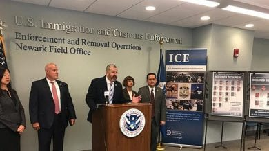 Photo of ICE arrests 54 in NJ during week-long enforcement action targeting at-large criminal aliens released into the community