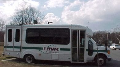 Photo of Hunterdon County's LINK transportation service operating at full capacity