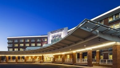Photo of Morristown Medical Center ranked number one hospital in New Jersey