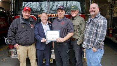 Photo of Mansfield Twp Fire Company receives federal grant to help recruit volunteers