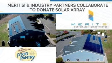 Photo of Industry partners collaborate to donate solar project for the Flemington Area Food Pantry