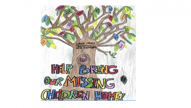 Photo of National Missing Children's Day poster contest open to fifth-graders