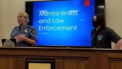Photo of Morris County Sheriff's officers undergo additional training on engaging with people with substance use and mental health disorders