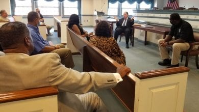 Photo of Morris County Prosecutor and the Morris County Chapter of the NAACP hold relationship-building summit