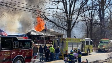 Photo of Fire destroys Oxford Twp. home of WWII veteran and his wife