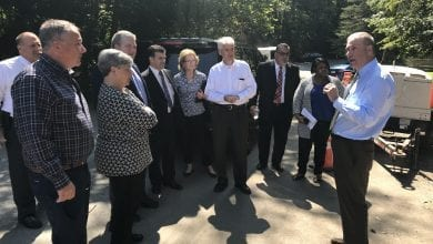 Photo of Oroho, Space and Wirths takes NJ DOT commissioner on tour of local transportation projects