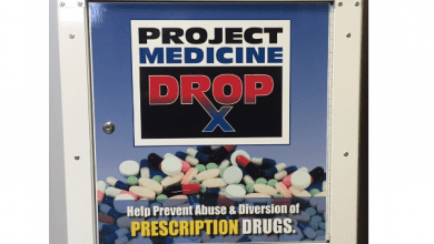 Photo of Hackettstown police collect more than 300 pounds of medications in 2019