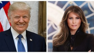 Photo of President Trump, first lady test positive for COVID-19