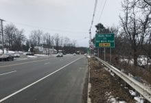 Photo of New traffic pattern now in effect at Route 46 & Old Wolfe Road intersection in Mount Olive Twp.