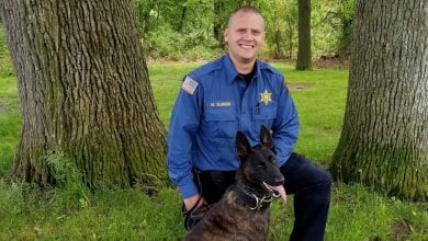 Photo of Morris County Sheriff's Office welcomes newest K-9 team