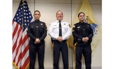 Photo of Two Sussex County Sheriff's Correctional Police Officers Promoted