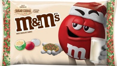 Photo of M&M'S® new white chocolate sugar cookie flavor hits shelves in time for the holidays