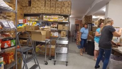Photo of Trinity United Methodist Church in Hackettstown seeking volunteers for food pantry