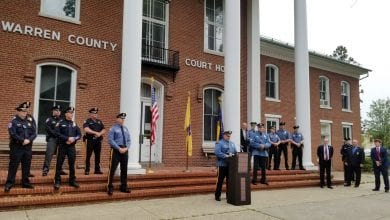 Photo of Warren County law enforcement pledges respect and trust with the public