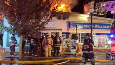 Photo of Firefighters extinguish 2-alarm fire in Washington Borough