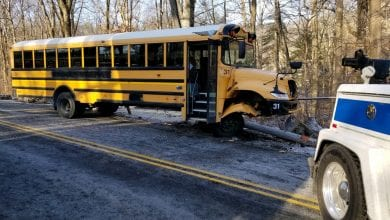 Photo of No injuries in Long Valley school bus crash