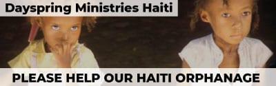 Dayspring Ministries - Haiti Ad