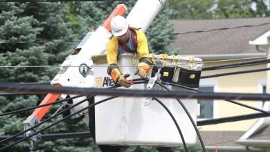 Photo of FirstEnergy crews continue restoration efforts following Tropical Storm Isaias