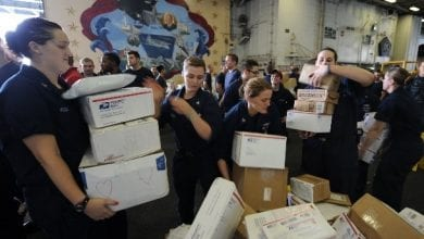 Photo of USPS ready to deliver holiday cheer to service members worldwide